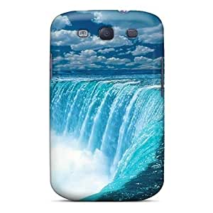 New Niagara Falls Tpu Case Cover, Anti-scratch Wade-cases Phone Case For Galaxy S3