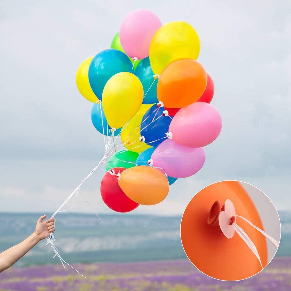 Ballonband 20 m orange Folienballons Zubehör Luftballons Polyband Band