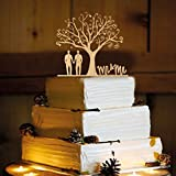 Rustic Wedding Cake Topper - Gay Men - WA1004