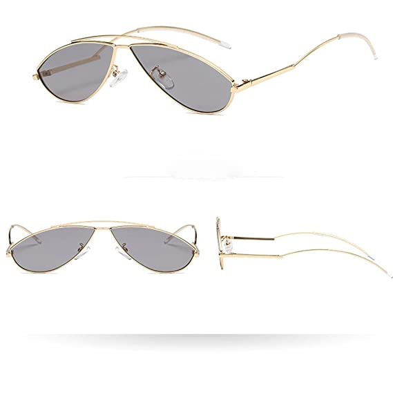 257350dceba154 Cat Eye Frame Lunettes de soleil Color Fashion Sunglasses Rawdah Été Hommes  Femmes Man Cat Eye