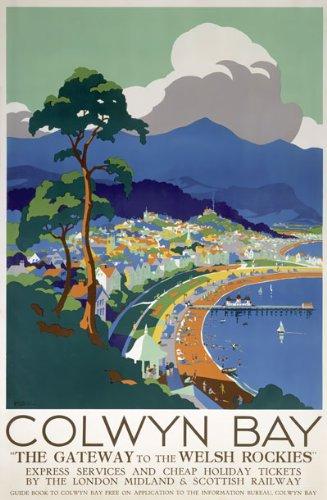 TU44 Vintage Rothesay Isle Of Bute British Railways Travel Poster Re-Print A4