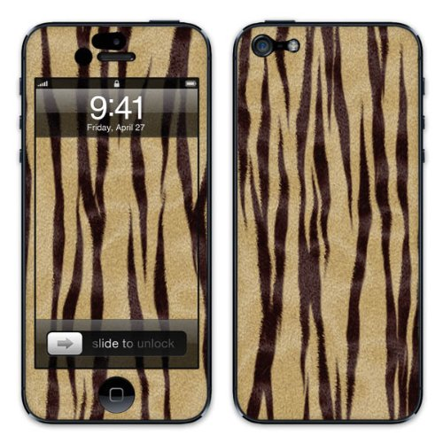 Diabloskinz B0081-0055-0005 Vinyl Skin für Apple iPhone 5/5S Tiger