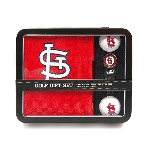 mlb-st-louis-cardinals-embroidered-golf-towel-2-golf-balls-and-divot-tool-set