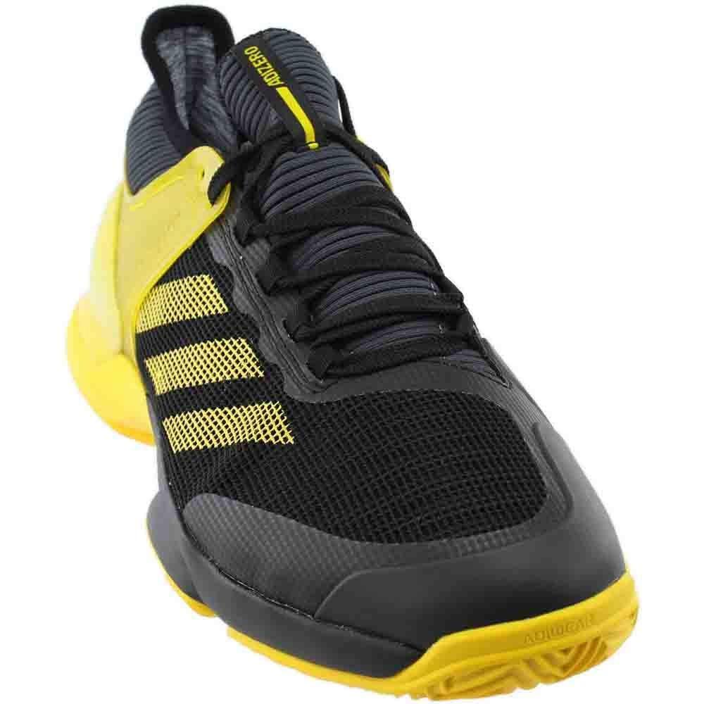 Black Adidas Mens Adizero Ubersonic 2 Clay Athletic & Sneakers Black