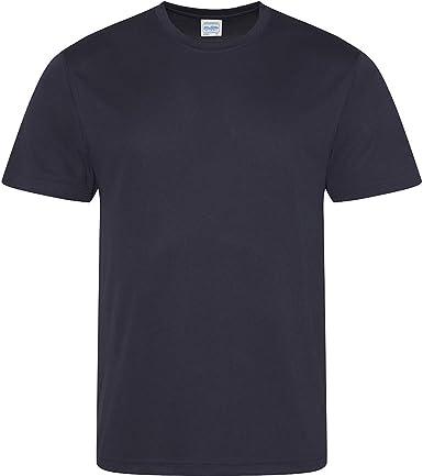 Just Cool - Camiseta deportiva transpirable tecnología Neoteric? de manga corta para hombre - Running/Gym/Deporte - Variedad 30 colores: Amazon.es: Ropa y accesorios