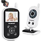 Video Baby Monitor with Camera, Upgrade 2017 UU Infant Wireless Crystal Clear Video Monitoring Night Vision Temperature Display Lullaby UU Infant