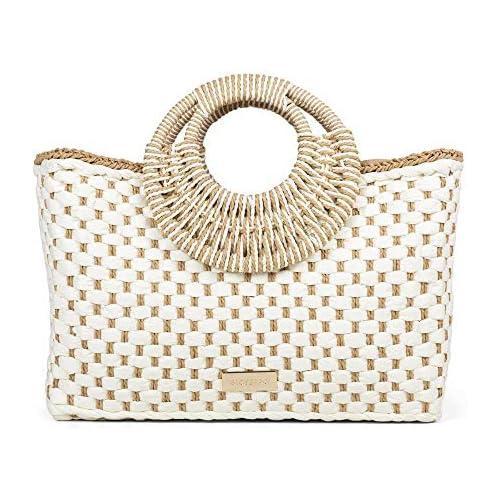 chollos oferta descuentos barato GIOSEPPO RODEZ Bolso maletín para Mujer Blanco Blanco 12x30x40 cm W x H x L