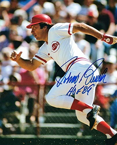 Autographed Signed Johnny Bench Cincinnati Reds 8x10 Photo With Coa - Certified Authentic