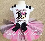 Minnie Mouse 1st Birthday Baby Girl Birthday Outfit Tutu