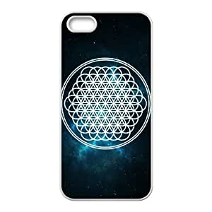 Custom Bring Me The Horizon,Best Protective Hard Plastic,TPU Phone case for iphone5 5s,white