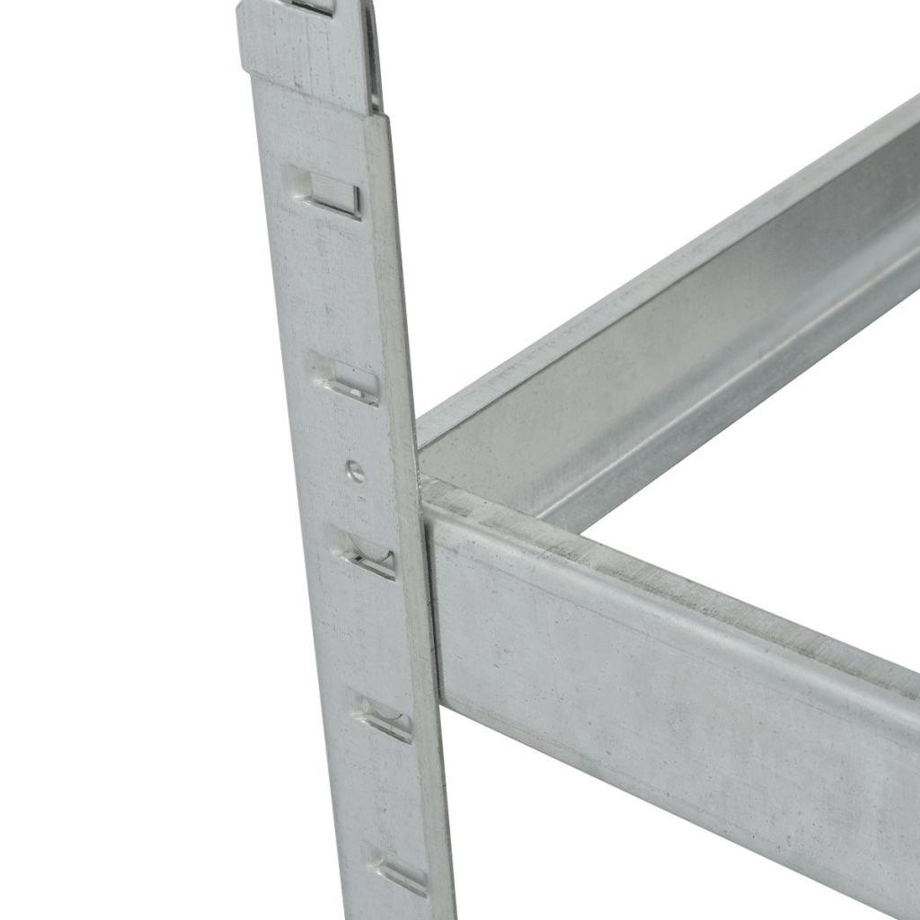 vidaXL Reifenregal Reifenlager Reifenst/änder Werkstattregal Regal 795 kg Stahl