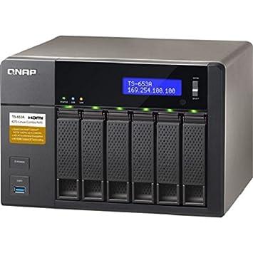 QNAP TS-653A - Dispositivo de Almacenamiento en Red NAS (Intel Celeron N3150,