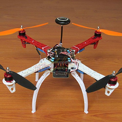 DIY F450 Quadcopter Kit &APM2.8 Flight controller& NEO-7M GPS+GPS Bracket& DJI 920KV Brushless motor& Simonk 30A ESC&1045 Propeller&Spare parts pack (F450 Diy Quad Kit compare prices)