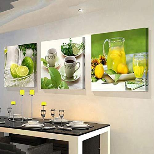 Fruits Lemon Canvas Painting Pictures Kitchen Living Room Decor