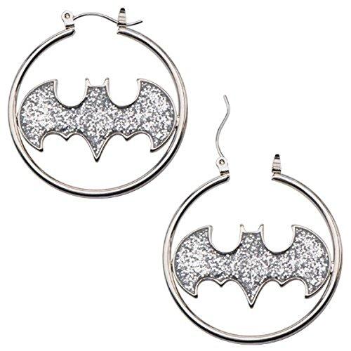 316L Surgical Steel, Batman Glitter Fashion 1.5