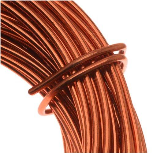 Copper German Bead Wire Craft Wire 26 Gauge/.4mm (20 Meters / 65.6 Feet)
