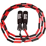 BodySport Beaded Jump Rope - Expand Your Workout Routine - Foam Handles for Firm Grip - 9 Ft. Rope