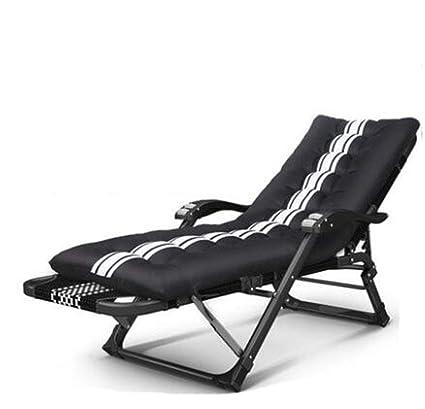 LYLLB-Deck chair Chaise Longue Pieghevole Pausa Pranzo Ufficio Letto ...