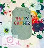 Happy Camper Dog Shirt