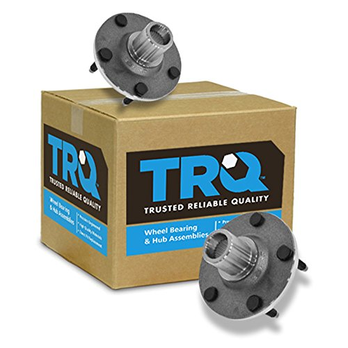 Mariner Bearings Front Hubs - TRQ Front Wheel Hub & Bearing Pair Set of 2 for Escape Tribute Mariner 5 Lug