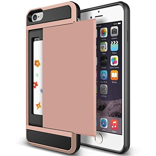 iPhone 6s Plus Case, Anuck Shockproof iPhone 6s Plus Wallet
