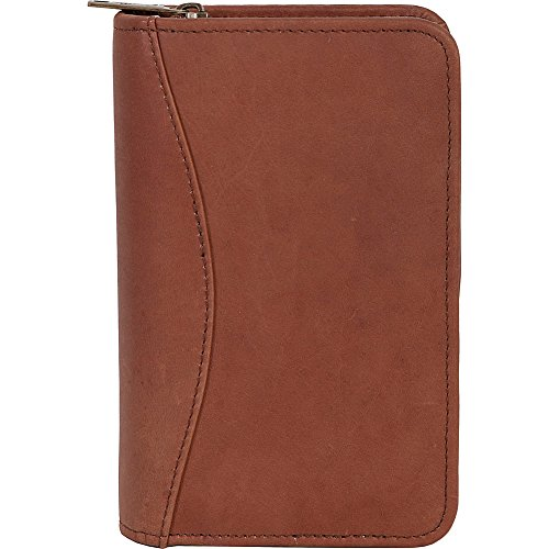 Scully Canyon Leather Zip Pocket Planner (Tan) Scully Zip
