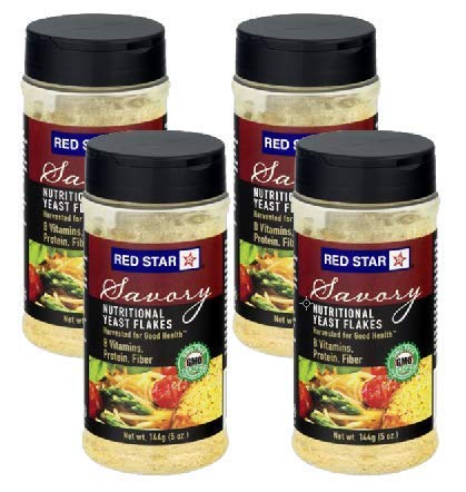 Red Star Yeast Flake Nutritional Shaker Jar, 5 oz (Pack of 4) by Red Star (Image #5)