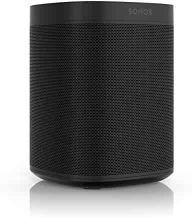 All-new Sonos One – Voice Controlled Smart Speaker with Amazon Alexa Built In (Black)