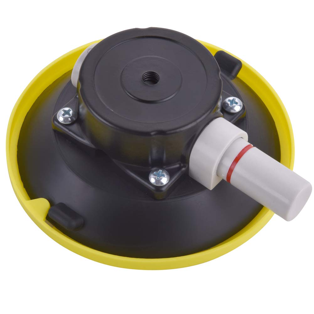 "IMT 4.5"" Mounting Vacuum Suction Cup W/ 5/16""-18 Female Threaded, Small Hand Pump Active Camera Mouting Base, Glass Sucker Sucking Tool/Car Sucker for Camera"