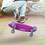 hysure Skateboard Complete Mini Cruiser Retro