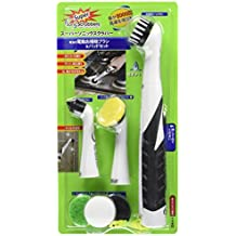 Super Sonic Scrubber with Household All Purpose 5 Brush Heads