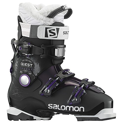Salomon Quest Access 70 Ski Boots Women s Black Purple 26.5
