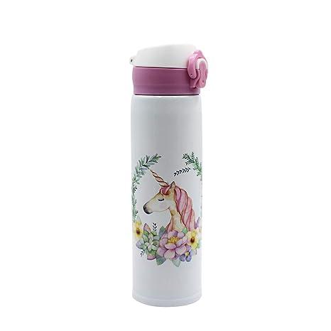 Amazon.com: Leomoste - Botella de agua con diseño de ...