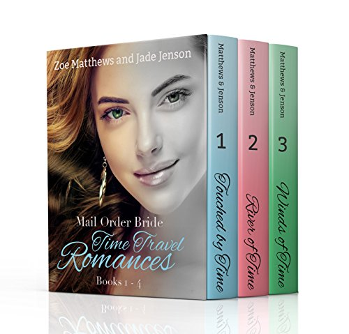 Time Travel/Mail-Order Brides Romance Bundle, Books 1 through 3 cover