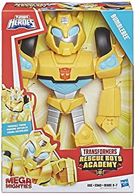 Transformers Rescue Bots Academy Mega mighties Bumblebee 10/""