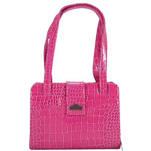 Bagabook, Borsa a mano donna rosa rosa 22 x 17.5 x upto 6 cm deep