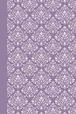 Journal: Damask (Purple) 6x9 - LINED JOURNAL
