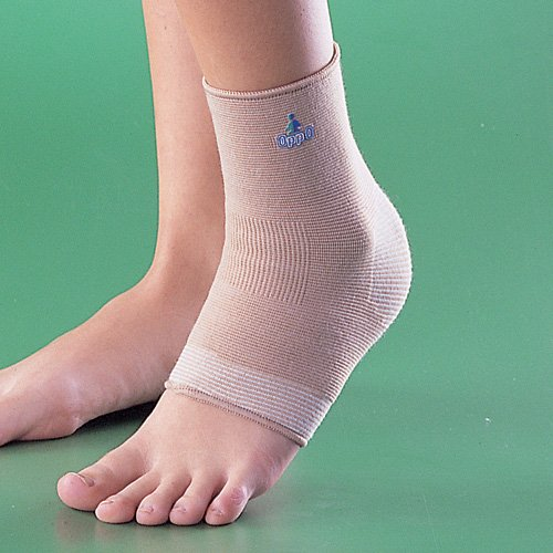 Oppo Medical 4-Way Stretch Right or Left Ankle Support (Natural; Unisex), Large