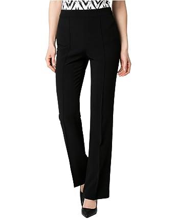 a741fce819 LE CHÂTEAU Double Weave Flare Leg Pant at Amazon Women's Clothing store: