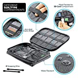 Cable Organizer Bag by Top Tech Bags – Double