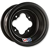 Douglas Wheel Tire A5 Wheel - 8x8 - 3+5 Offset - 4/110 - Black, Bolt Pattern: 4/110, Rim Offset: 3+5, Wheel Rim Size: 8x8, Color: Black, Position: Front/Rear
