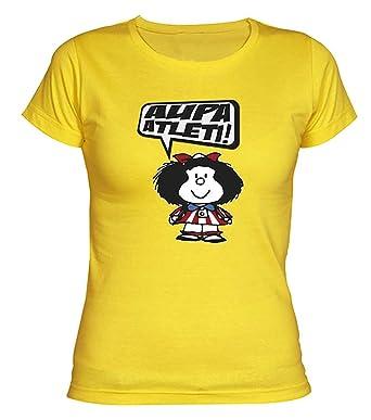 Mafalda AtmAmazon Del Colchoneras Atleti Camisetas Chica Camiseta beYIW2D9EH