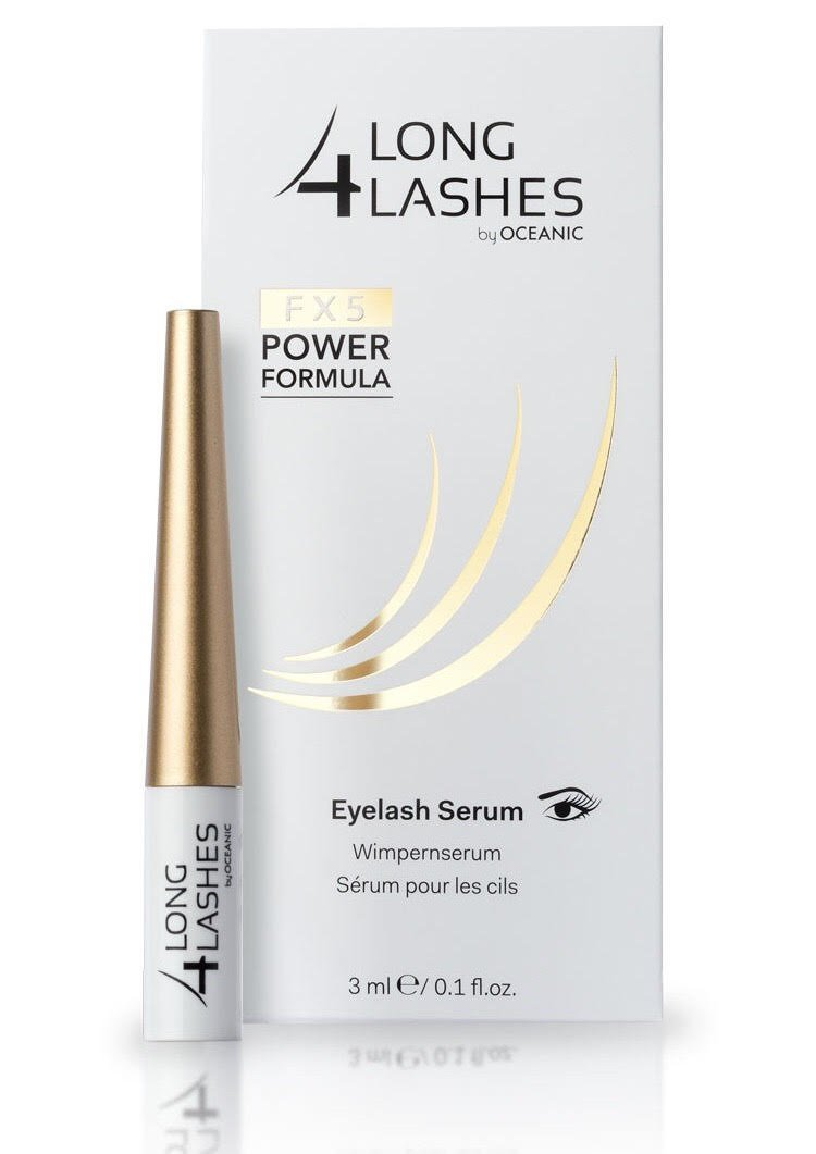NEW! LONG 4 LASHES FX5 Power Formula 3 ml Enhancing Eyelash Serum by Long 4 Lashes