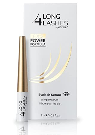 9ef56bc7709 Long4Lashes FX5 Power Formula Eyelash Serum by Oceanic, 3 ml: Amazon.co.uk:  Beauty