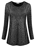 #5: Viracy Women's Long Sleeve Yoga Tops Activewear Running Workout Shirt