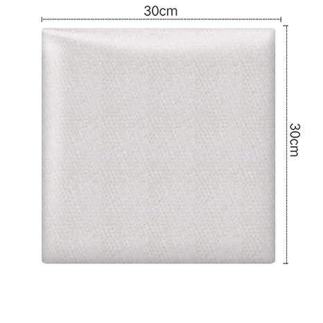 Amazon.com: PODREAM - Panel de pared de tela 3D gruesa ...
