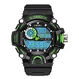 Watches Men Military Army Watch Electronic Led Sport Wristwatch Digital Male Clock 1385 S Shock Sport Watch Men