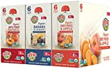 earths best stage 2 baby food - Earth's Best Organic Stage 2, Fruit Blends Variety Pack, 18 Count