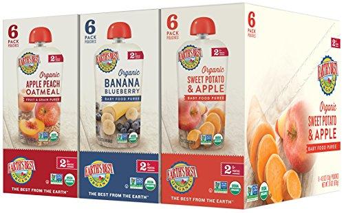 Earths Best Organic Blends Variety