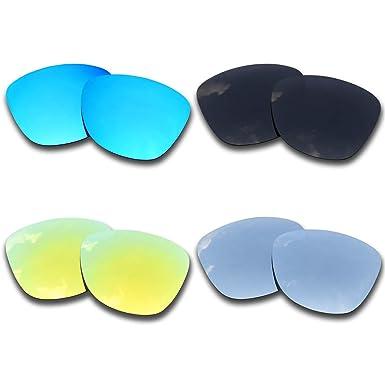 SOODASE Para Oakley Frogskins Asian Fit Gafas de sol Azul/Negro ...
